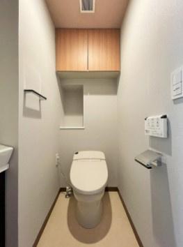 メインステージ新橋のトイレです。