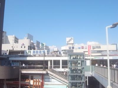 JR総武線「津田沼」駅です!