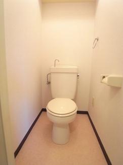 キレイで気持ちがいいトイレです