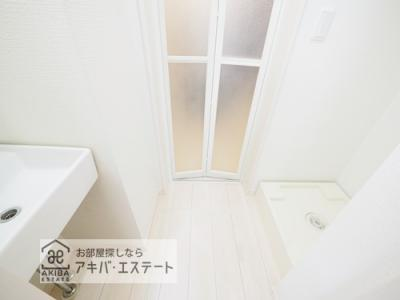 【洗面所】サクラレジデンス八潮