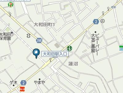 【地図】LAUREL観音(ローレルカンノン)