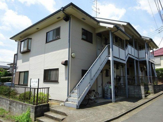 グリーンライン「日吉本町」駅より徒歩5分!緑豊かで閑静な住宅地にある2階建てアパート♪2021年9月内装全面リノベーション完成予定の綺麗なお部屋です◎