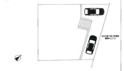 【区画図】ファーストタウン生駒郡第7三郷町三室