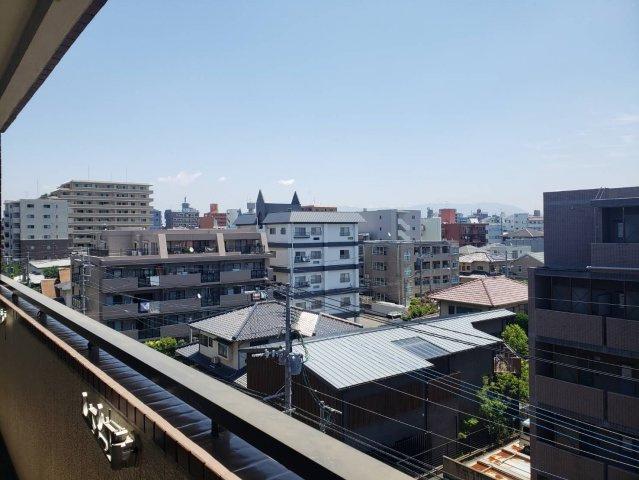 【バルコニー】ライオンズマンションマキシム萩の宮