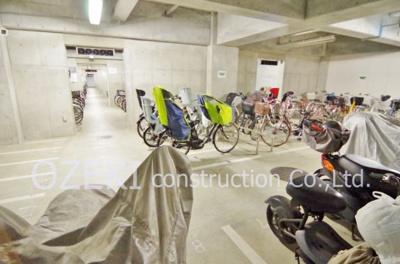 【駐輪場】グローリオ越谷ステーションタワー