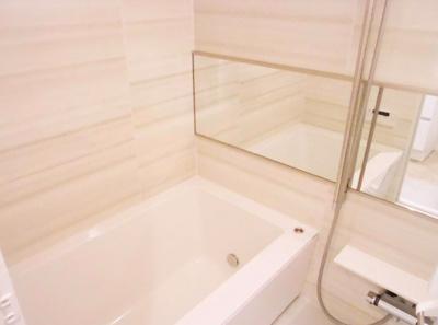 【浴室】ダイアパレス大島 リ ノベーション済 専用庭付