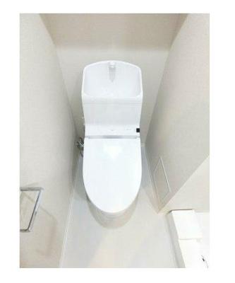 嬉しいシャワートイレ付(同建物、同一仕様)