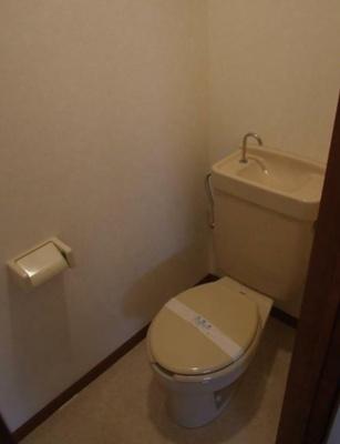 【トイレ】セントラルパークレヂデンス