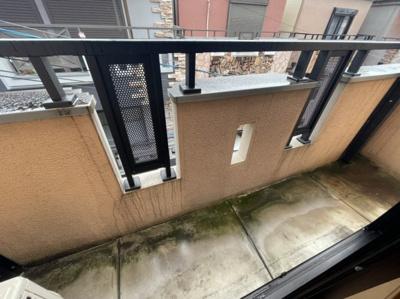 3階のバルコニー