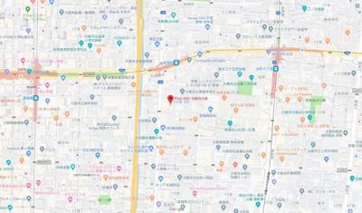 【地図】スカイ松屋町
