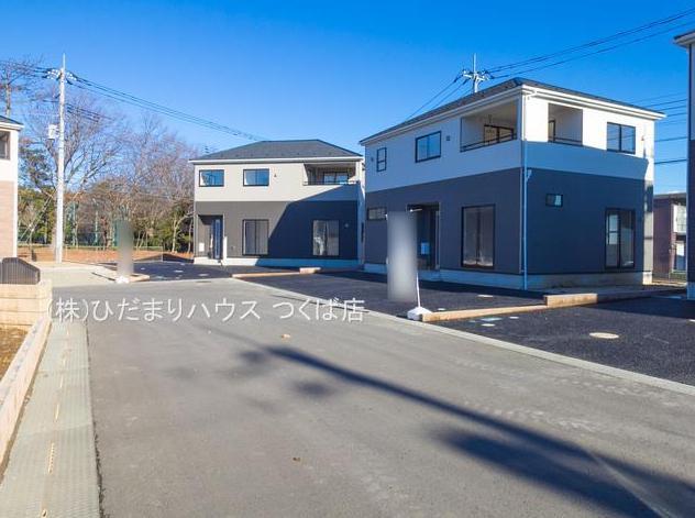 【前面道路含む現地写真】つくば市並木第3 新築戸建 6号棟