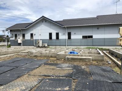 碧南市長田町新築分譲住宅D号棟写真です。2021年8月撮影