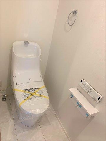 【トイレ】新築未入居住宅