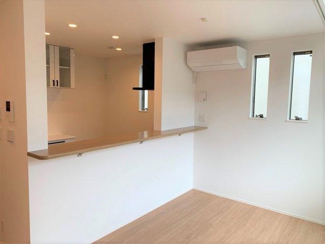 【キッチン】新築未入居住宅