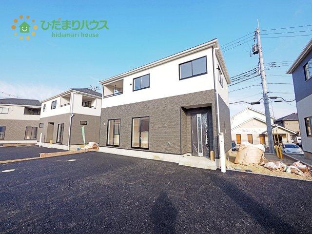 【外観】つくば市並木第3 新築戸建 8号棟