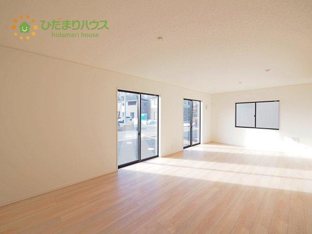 【前面道路含む現地写真】つくば市並木第3 新築戸建 8号棟
