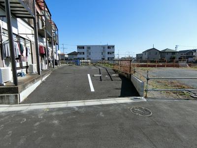 【駐車場】カギナカハイツA