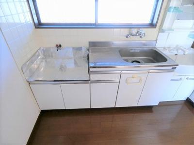 【キッチン】カギナカハイツA