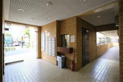 【ロビー】モナークマンション柿の木坂