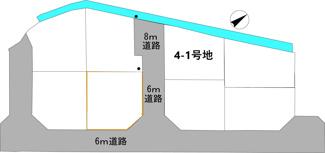 【土地図】野洲市西河原【全36区画】4-1号地 売土地