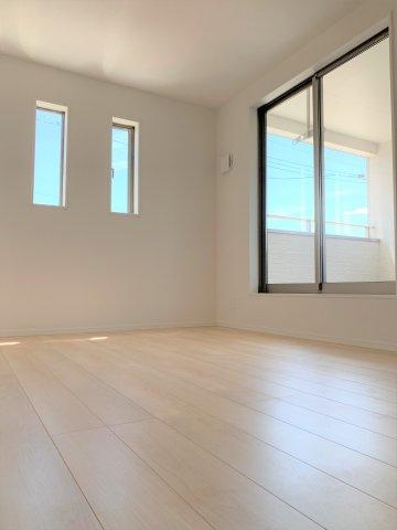 2面採光の明るいお部屋で健やかな毎日