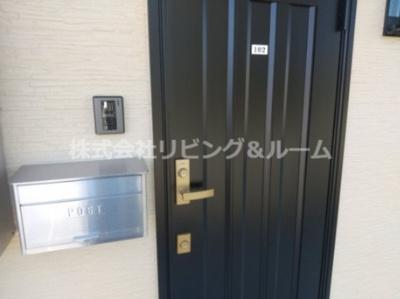 【玄関】シャトール長塚・Ⅱ棟