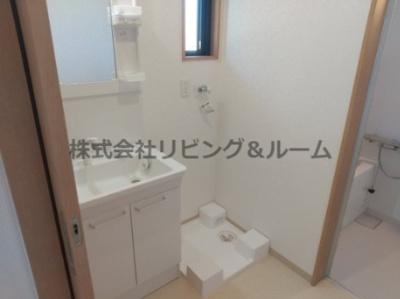【洗面所】シャトール長塚・Ⅱ棟