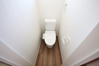 3号棟 コンパクトで使いやすいトイレです