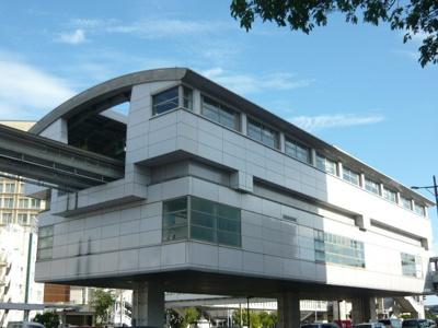 沖縄都市モノレール旭橋駅まで600m