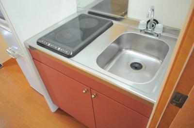 【キッチン】レオパレスファンファーレ