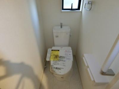 【トイレ】石岡市国府2期 新築戸建
