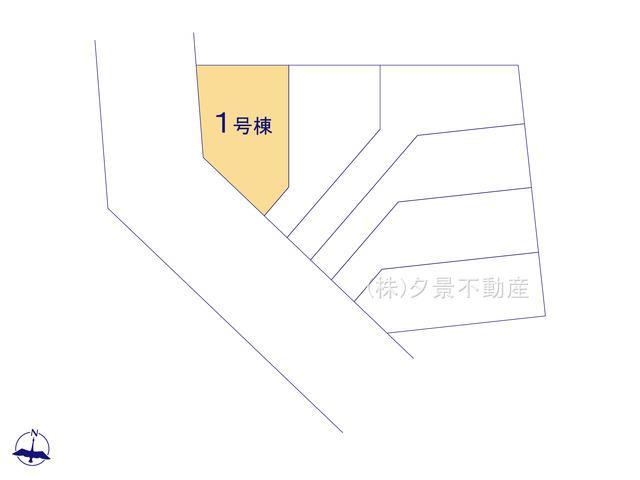 【間取り】川口市西青木1丁目9-14(1号棟)新築一戸建てミラスモ