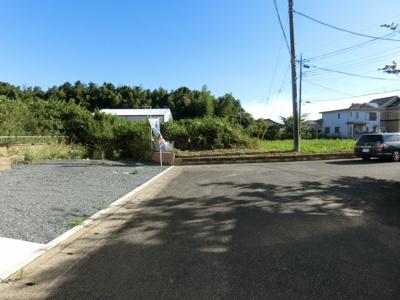 【前面道路含む現地写真】小美玉市清風台団地2期 新築戸建