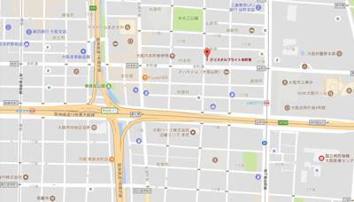 【地図】クリスタルブライト本町東