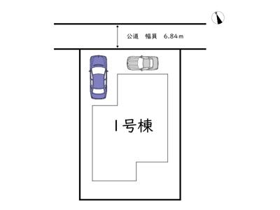 【区画図】姫路市広畑区才 第7/全1棟