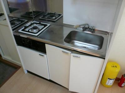 【キッチン】プチコーポ梶ヶ谷