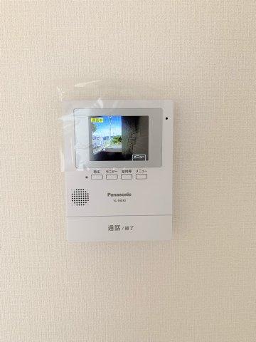 録画機能付きTVモニターインターホン
