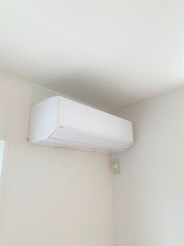 エアコン付いています