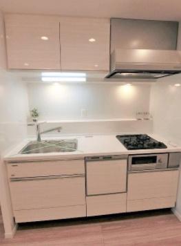 旭ヶ丘マンションのキッチンです。