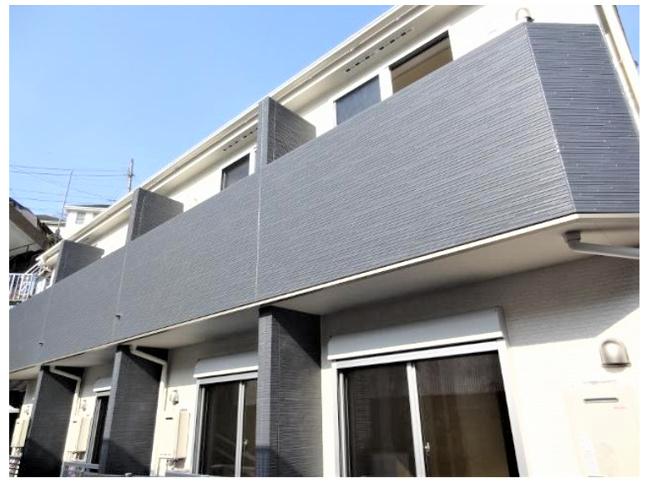 【外観】横浜市南区蒔田町の一棟売りアパート