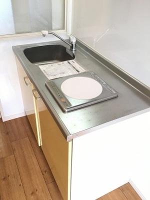 お料理しやすいキッチンです