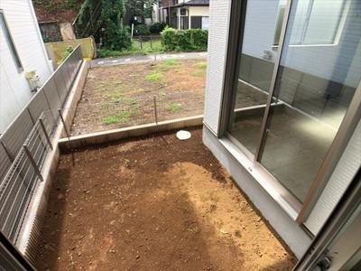 【庭】草加市谷塚町新築戸建て【全2棟】