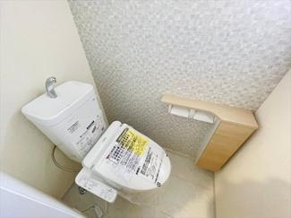 【トイレ】草加市花栗4丁目新築戸建て