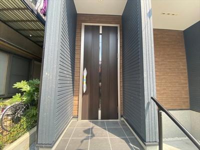 【玄関】草加市弁天4丁目 新築戸建 全1棟