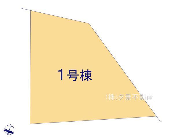 【区画図】浦和区岸町1丁目4-5(全1戸)