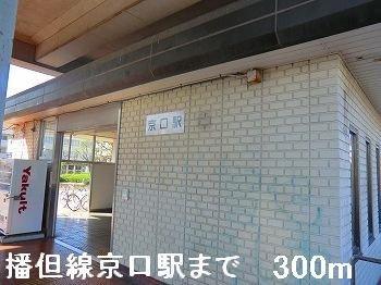 播但線京口駅まで300m