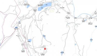 【地図】深町 中古戸建