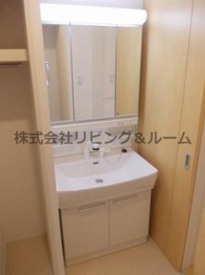 【洗面所】グランファミーユⅡ