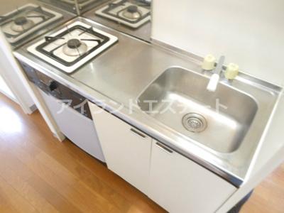 【キッチン】ドエルタク オートロック バストイレ別 駅近 2F以上
