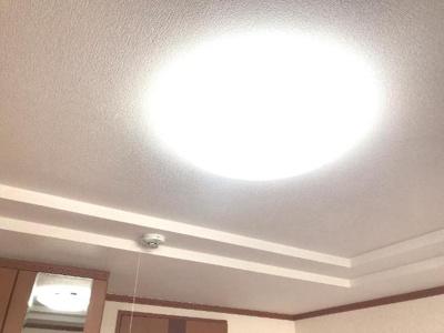 LED照明交換しました